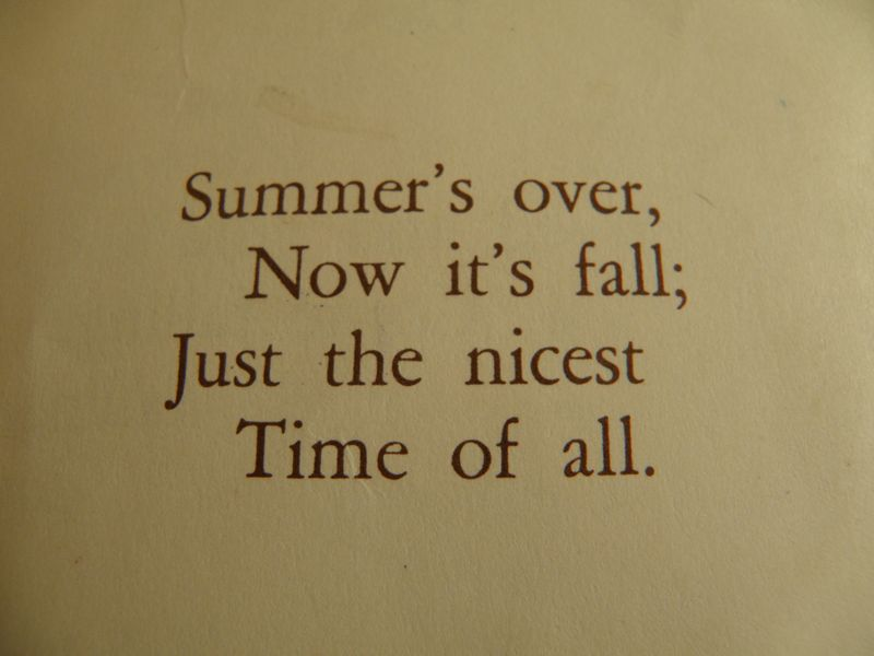 Fall verse